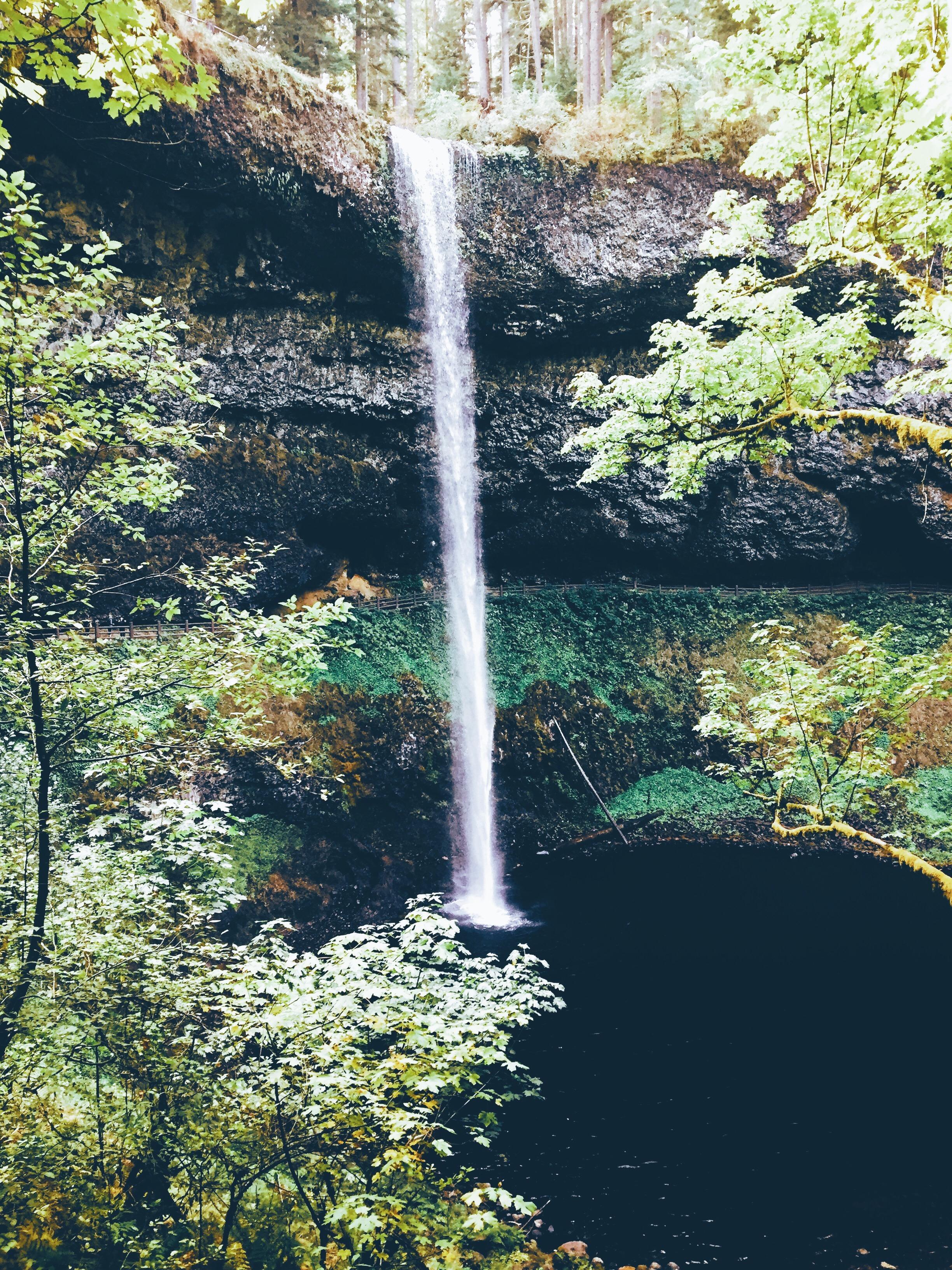thousand waterfalls in Oregon