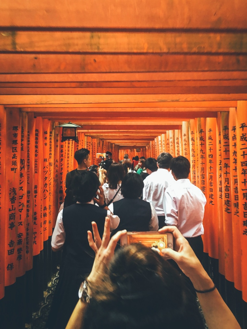 iPhone 6s Plus - Fox Shrine near Kyoto,Japan